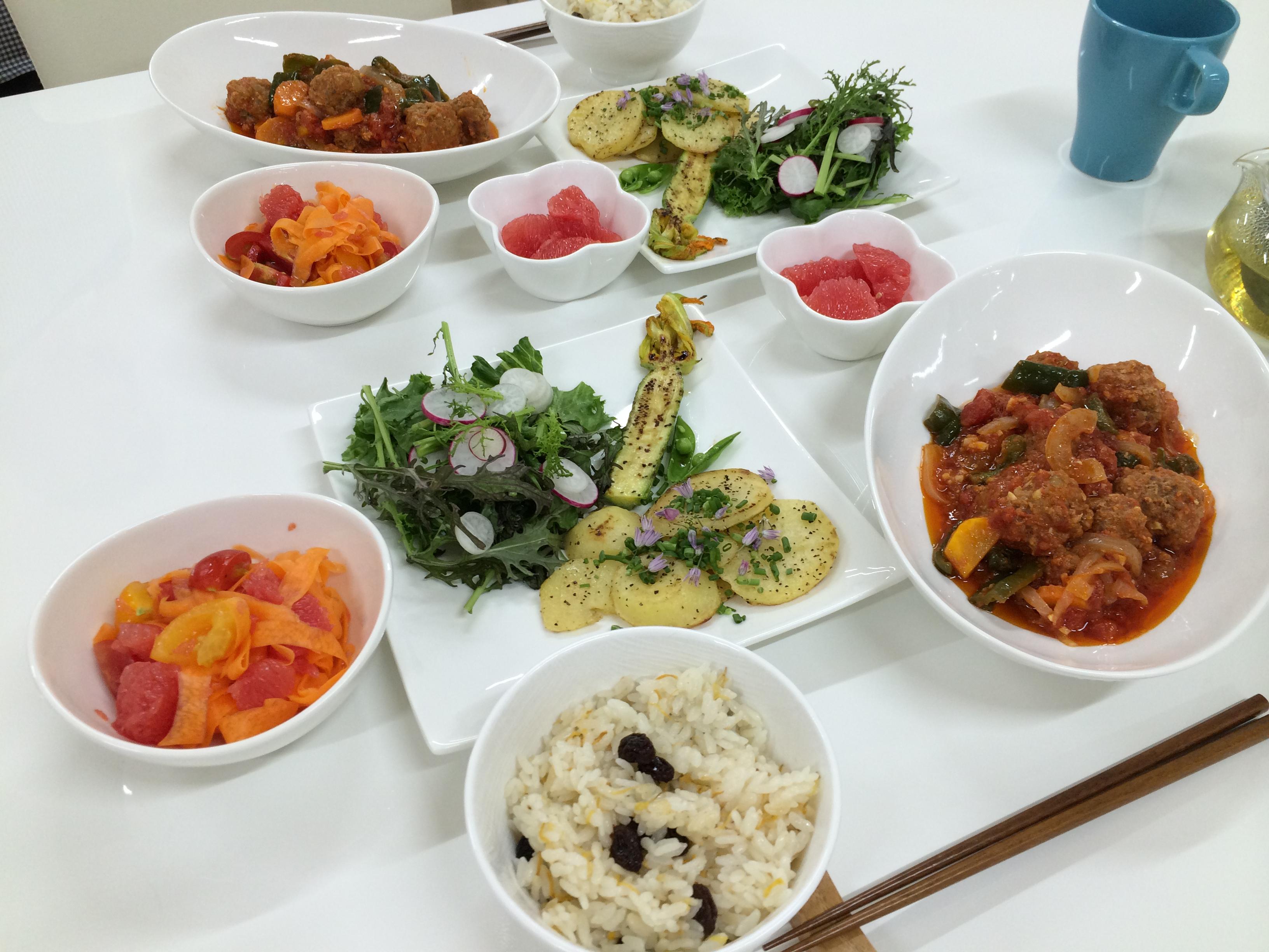 ハーブ・野菜・果物を楽しむ講座 2014年7月