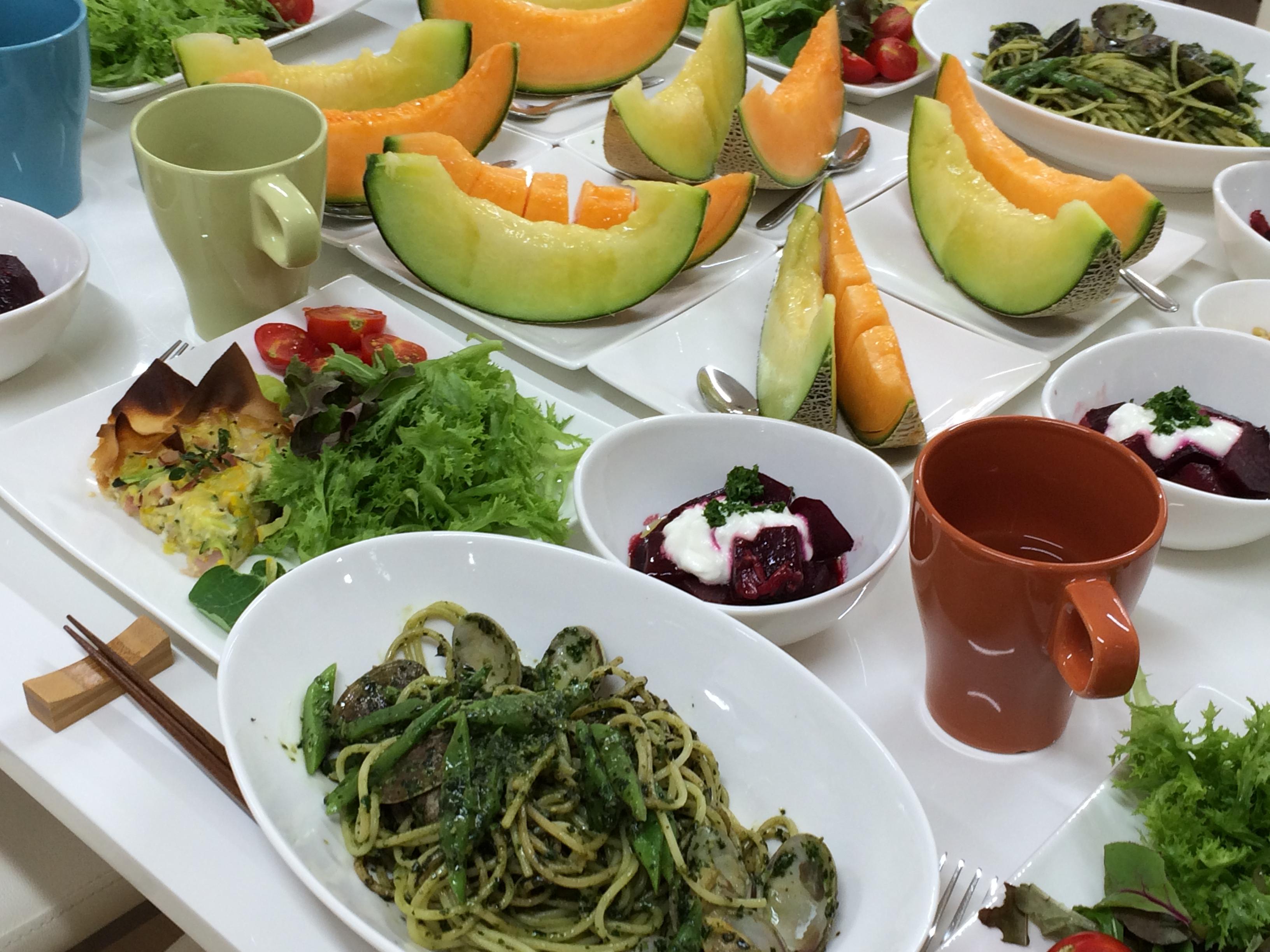 ハーブ・野菜・果物を楽しむ講座 2015年8月