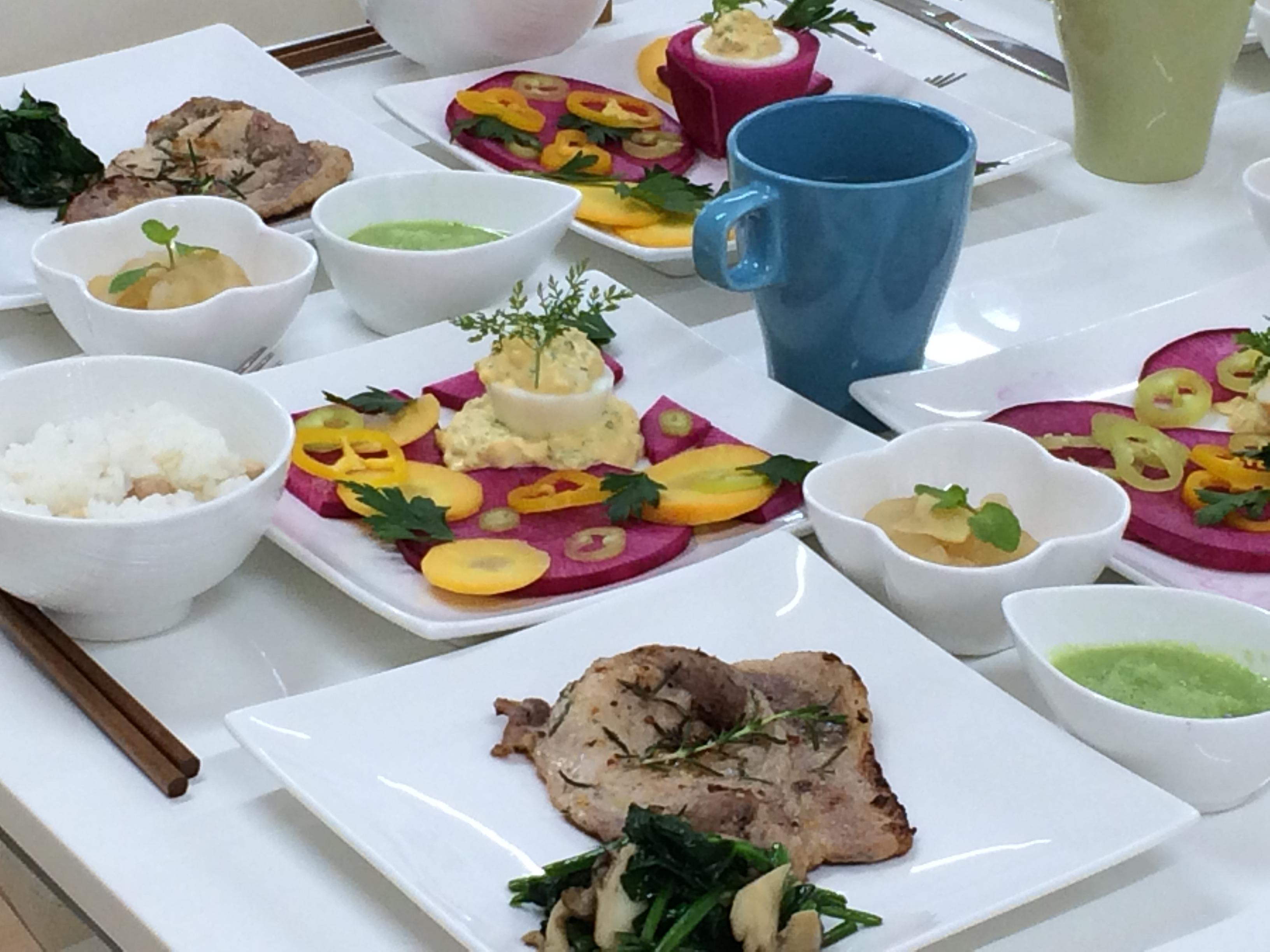 ハーブ・野菜・果物を楽しむ講座 2014年10月