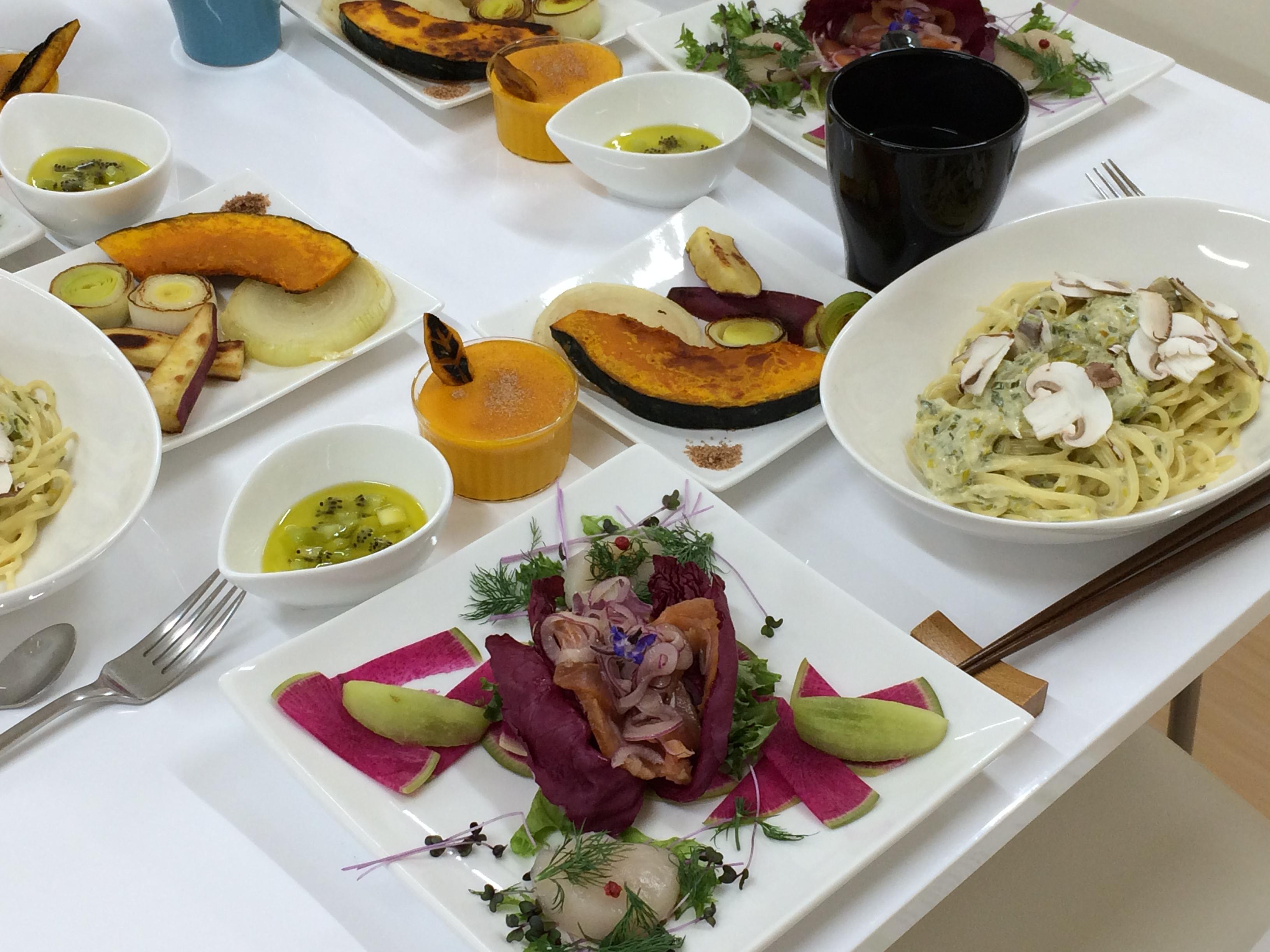 ハーブ・野菜・果物を楽しむ講座 2014年11月
