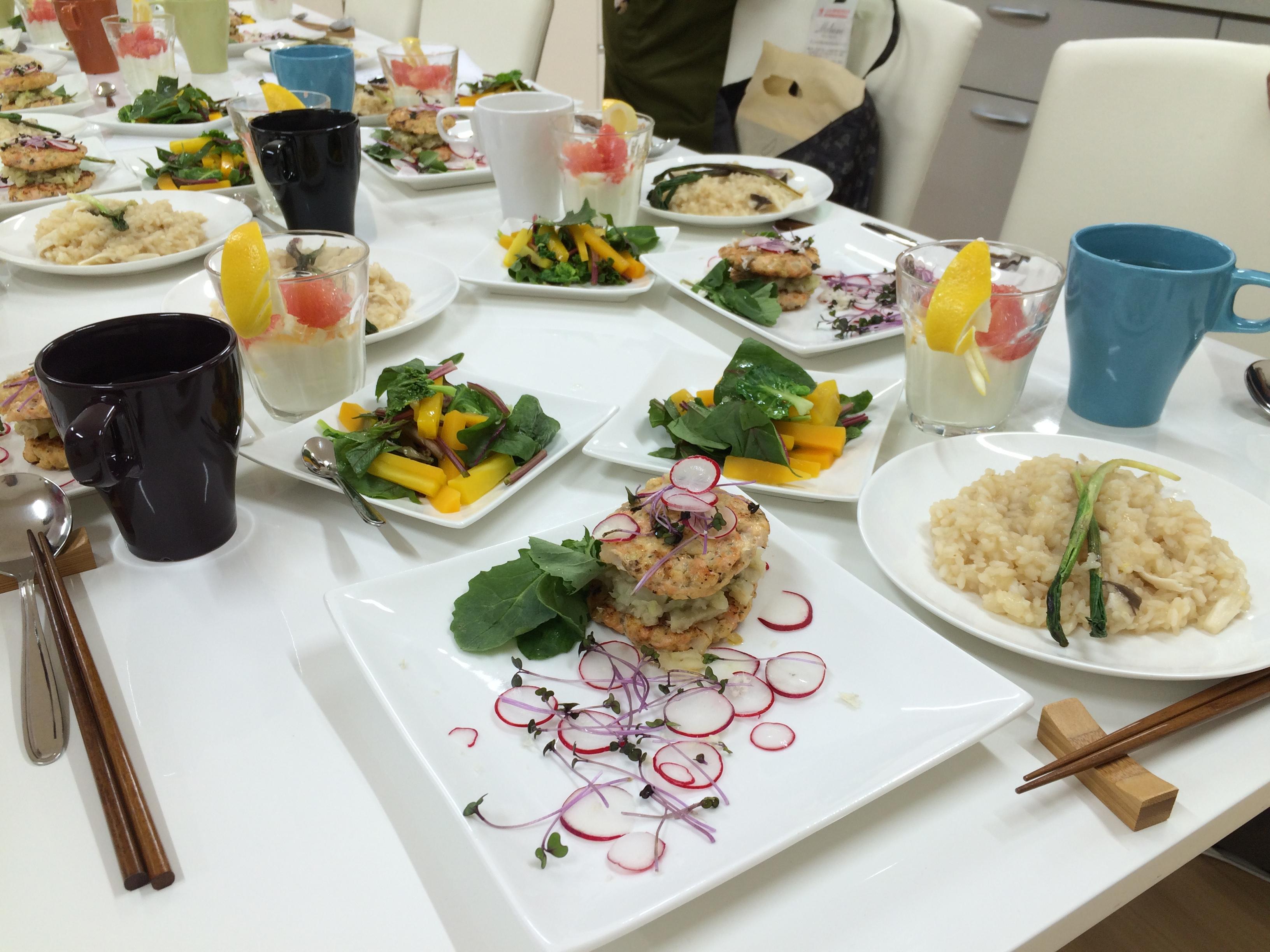 ハーブ・野菜・果物を楽しむ講座 2015年3月
