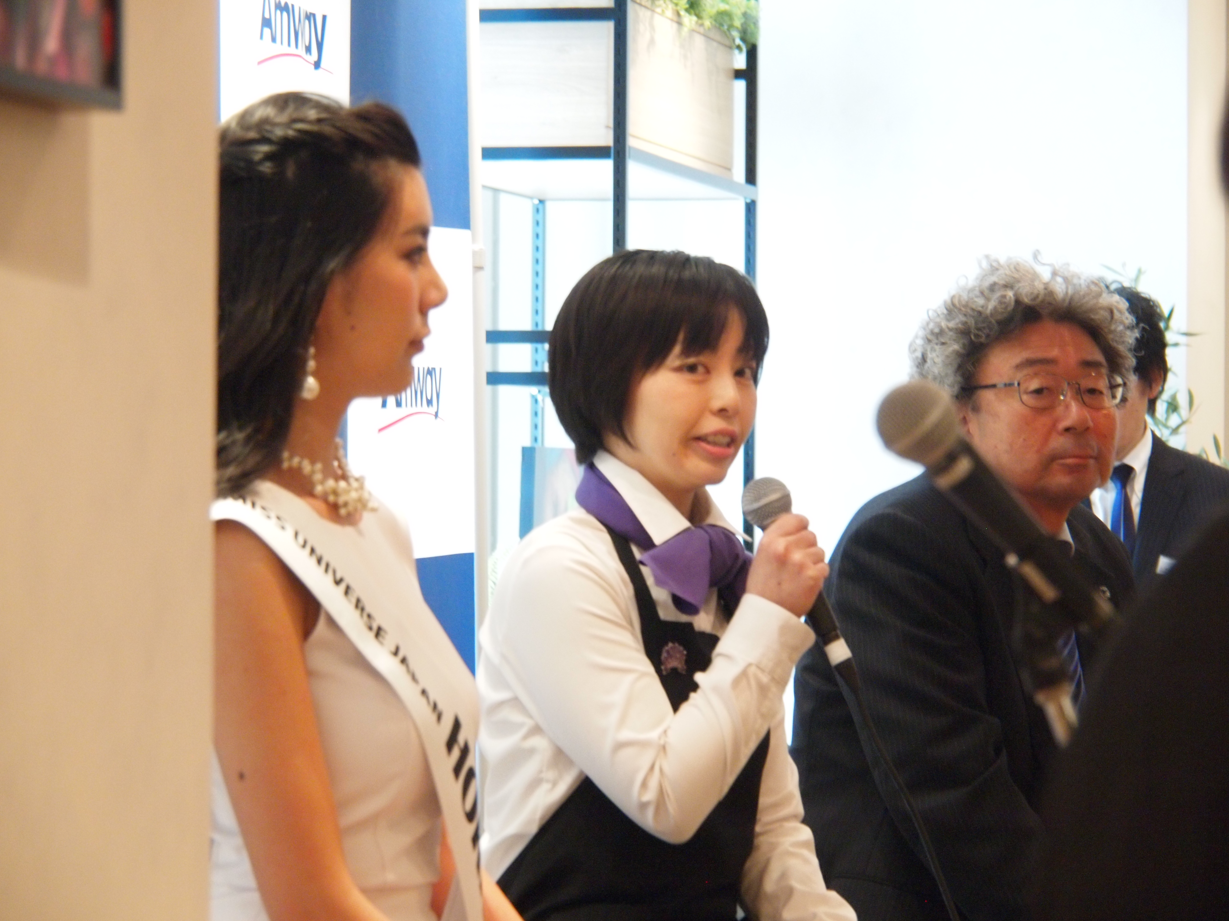 『Amwayプラザ札幌&Phyto Cafeオープニング・セレモニー』の記念トークショーに登壇いたしました♪