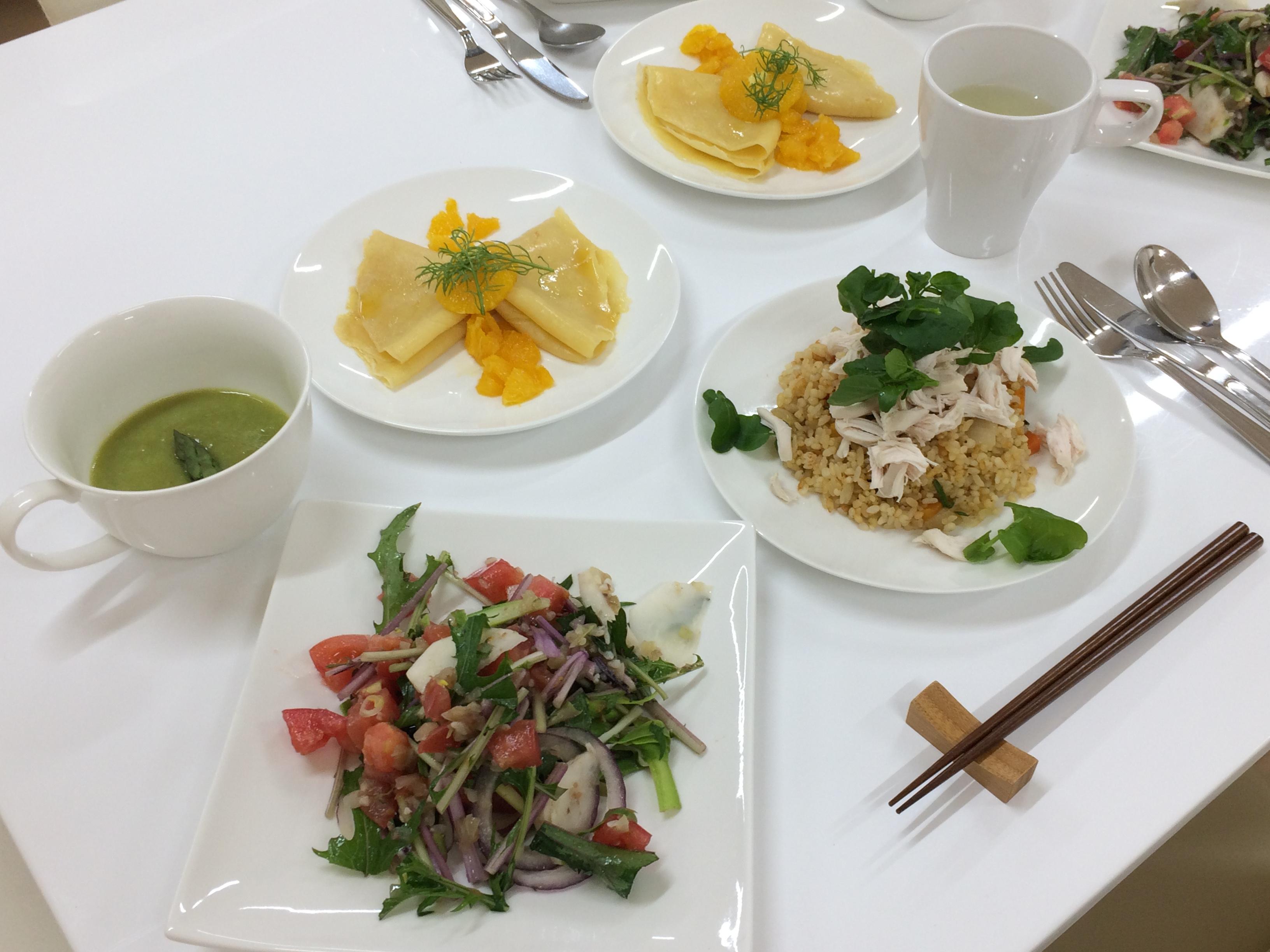 ハーブ・野菜・果物を楽しむ講座 2016年5月